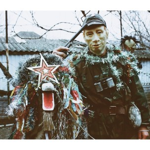 Christmas traditions and Putin's mask